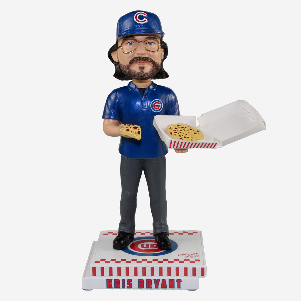 Kris Bryant Chicago Cubs Pizza Box Bobblehead