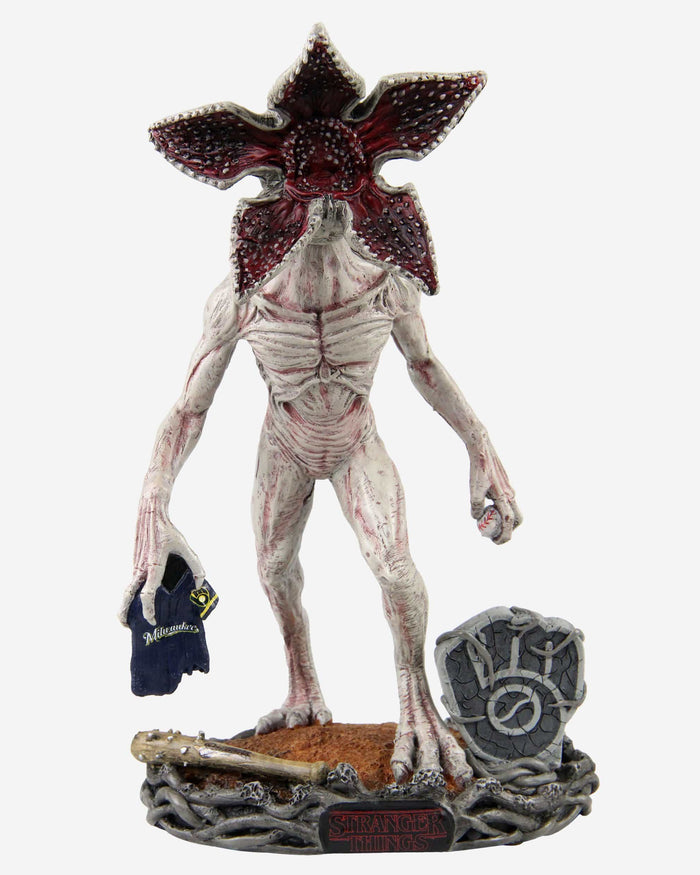 Milwaukee Brewers Stranger Things Demogorgon Bobblehead FOCO - FOCO.com
