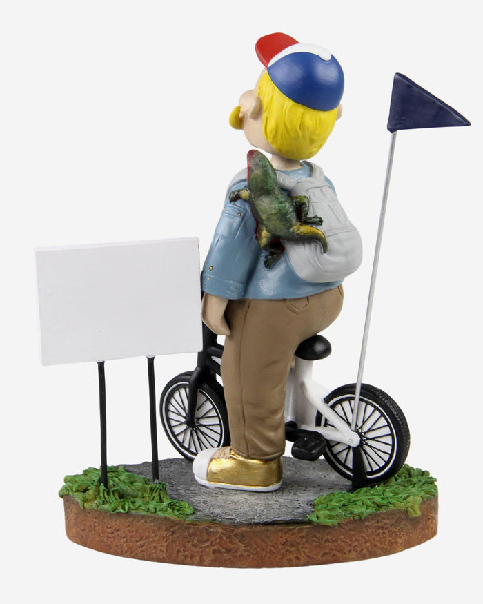 Bernie Brewer Milwaukee Brewers Stranger Things Mascot On Bike Bobblehead FOCO - FOCO.com
