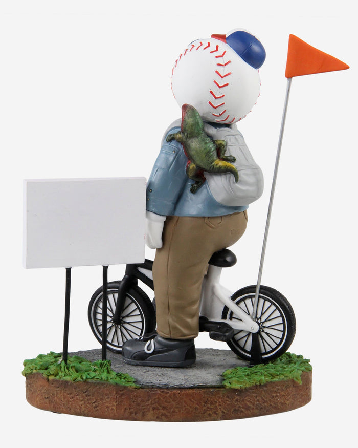 Mr Met New York Mets Stranger Things Mascot On Bike Bobblehead FOCO - FOCO.com