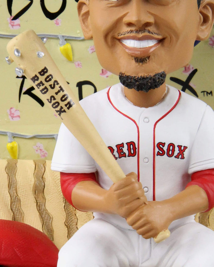 Mookie Betts Boston Red Sox Stranger Things Alphabet Wall Bobblehead FOCO - FOCO.com