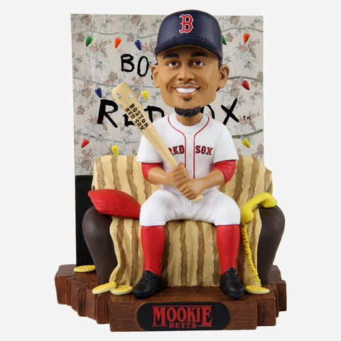 Mookie Betts Boston Red Sox Stranger Things Alphabet Wall Bobblehead