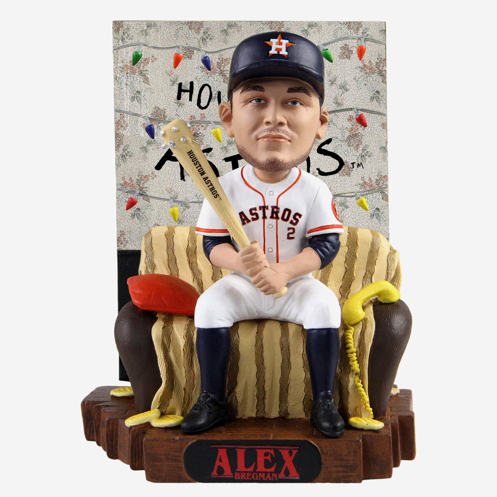 Alex Bregman Houston Astros Stranger Things Alphabet Wall Bobblehead FOCO - FOCO.com