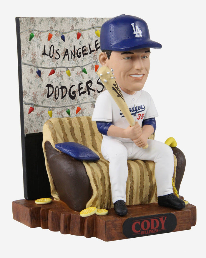 Cody Bellinger Los Angeles Dodgers Stranger Things Alphabet Wall Bobblehead FOCO - FOCO.com