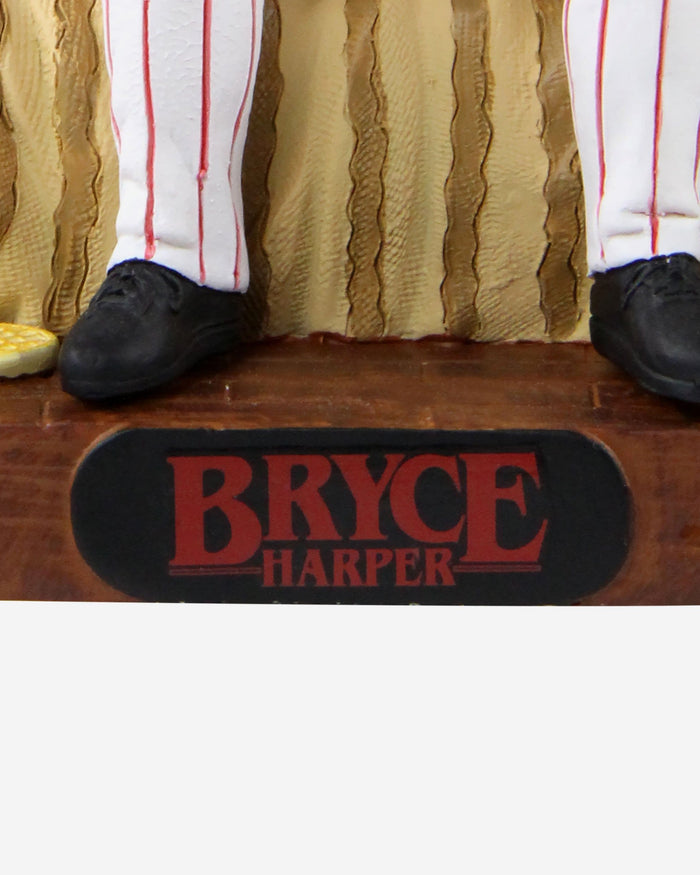 Bryce Harper Philadelphia Phillies Stranger Things Alphabet Wall Bobblehead FOCO - FOCO.com
