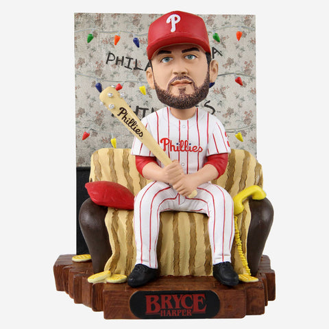 Bryce Harper Philadelphia Phillies Stranger Things Alphabet Wall Bobblehead
