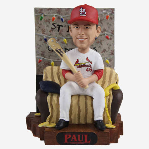 Paul Goldschmidt St Louis Cardinals Stranger Things Alphabet Wall Bobblehead