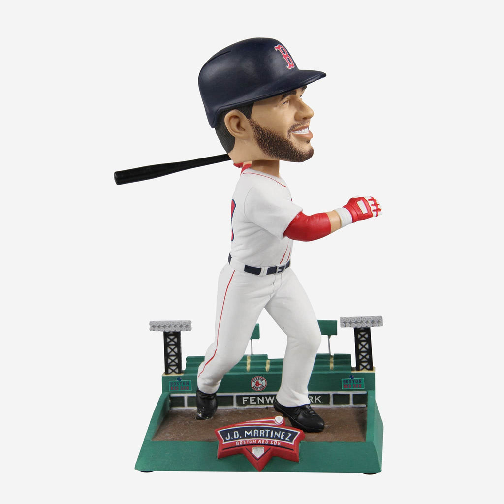 JD Martinez Boston Red Sox Action Pose Bobblehead FOCO - FOCO.com