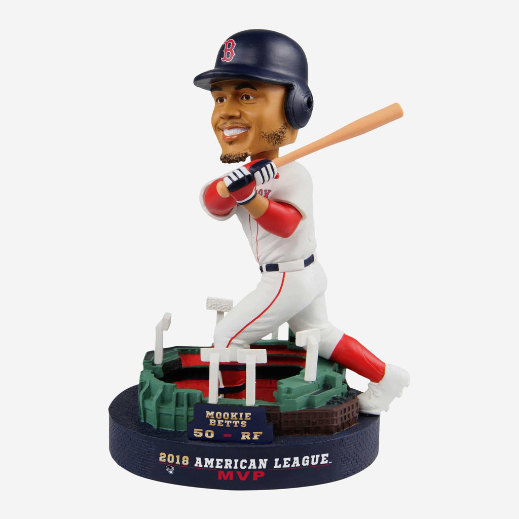 Mookie Betts Boston Red Sox 2018 AL MVP Bobblehead FOCO - FOCO.com