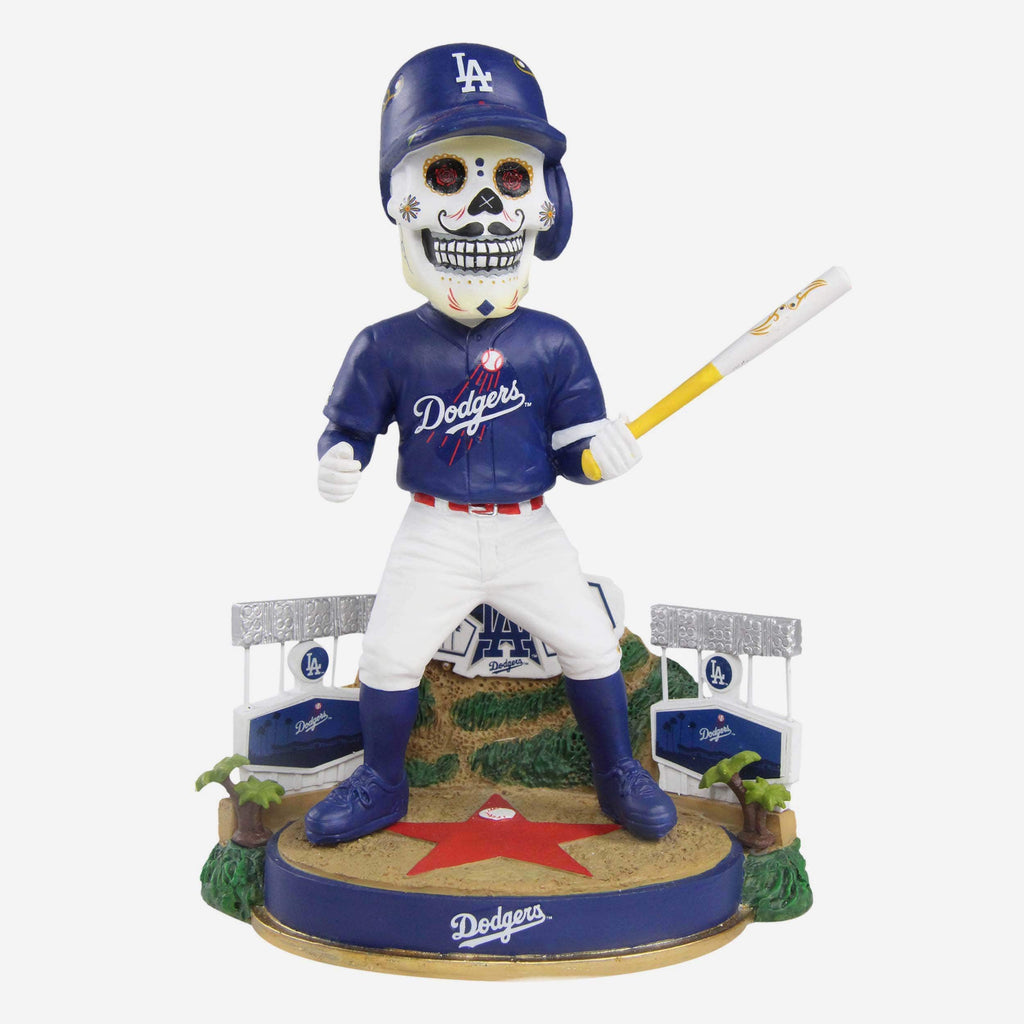 Los Angeles Dodgers Day Of The Dead Hollywood Hills Bobblehead FOCO - FOCO.com