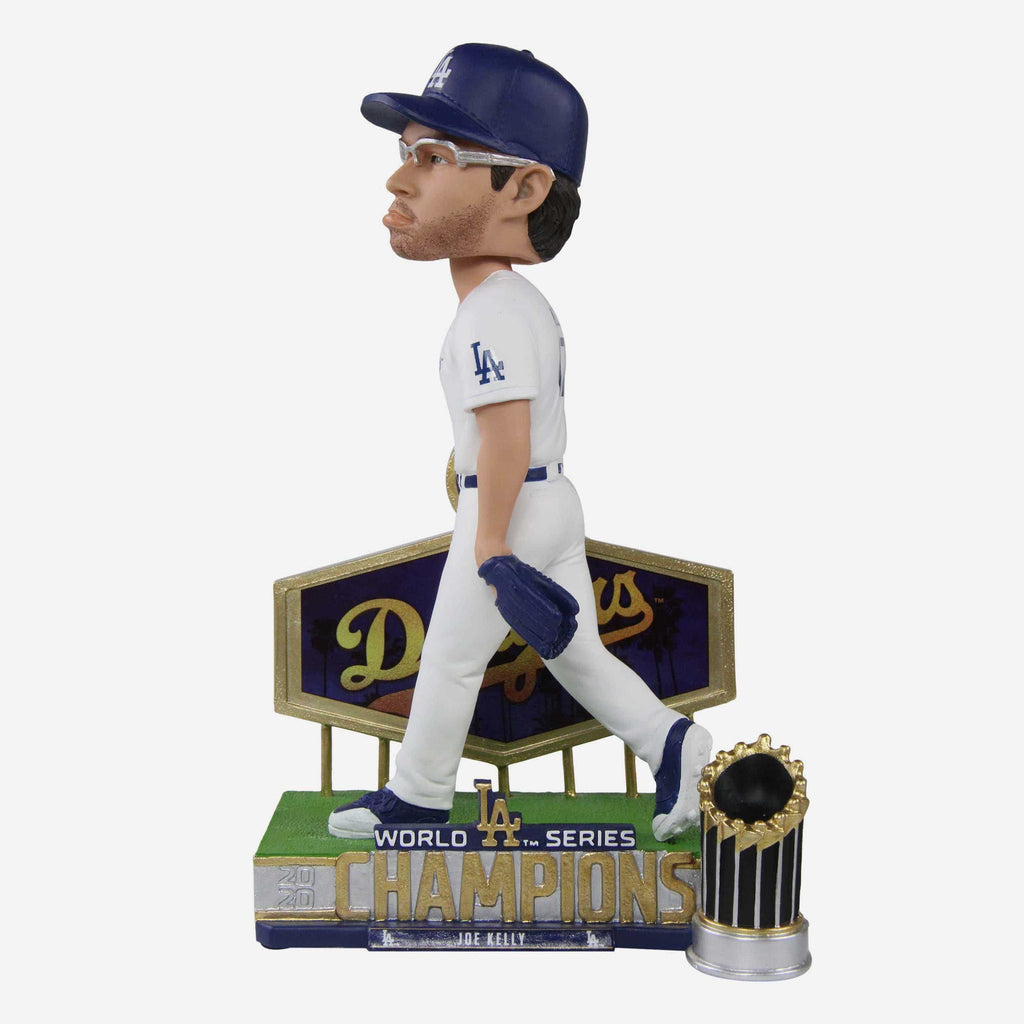 Joe Kelly Los Angeles Dodgers 2020 World Series Champions Pouty Face Bobblehead FOCO - FOCO.com