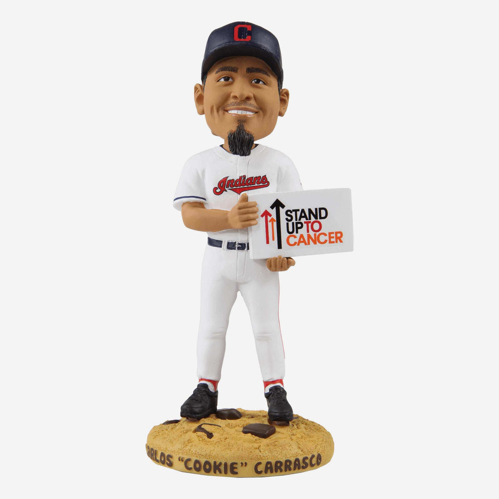 Carlos Carrasco Cleveland Indians Cookie Base Bobblehead FOCO - FOCO.com