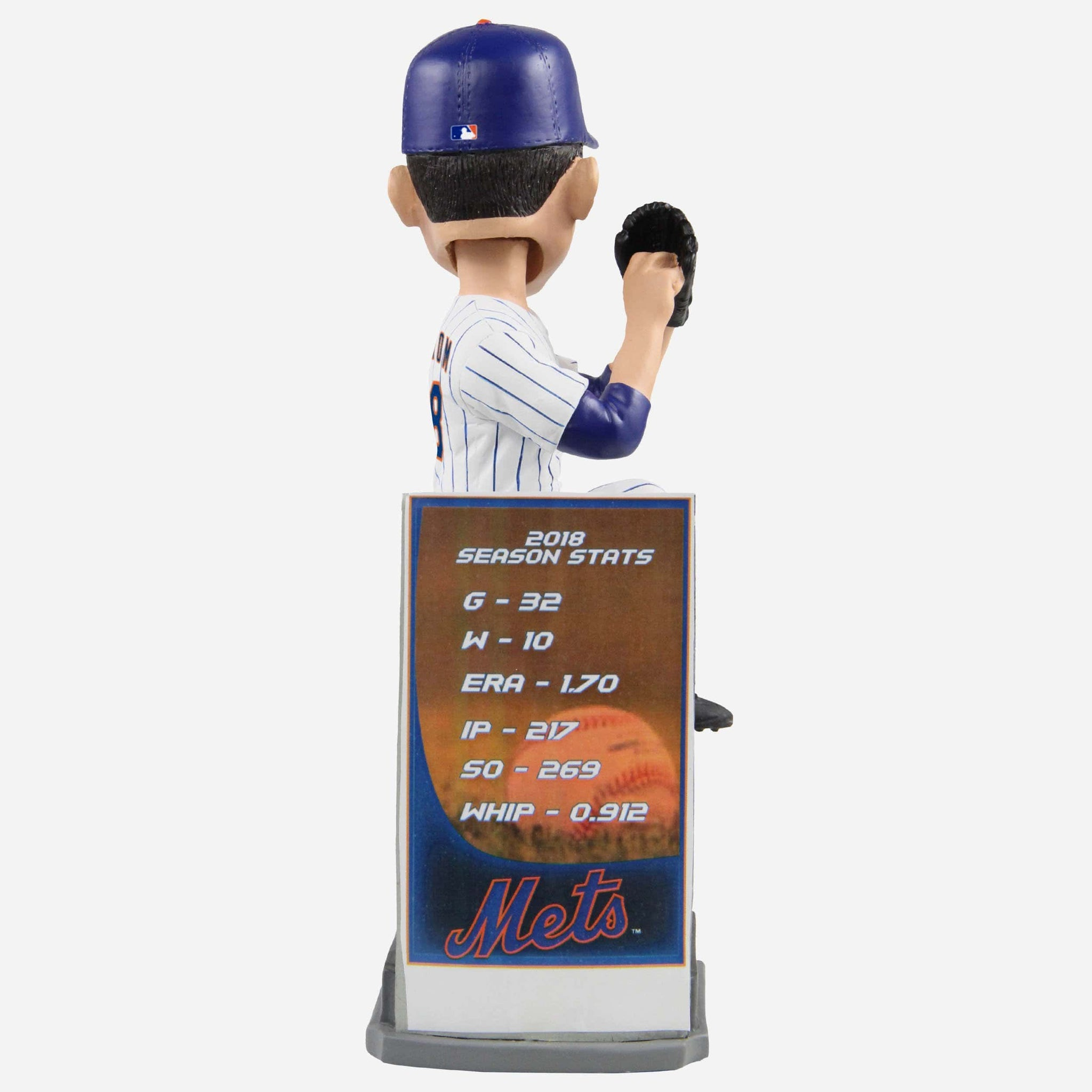 Jacob deGrom New York Mets 2018 NL CY Young Award Bobblehead FOCO - FOCO.com