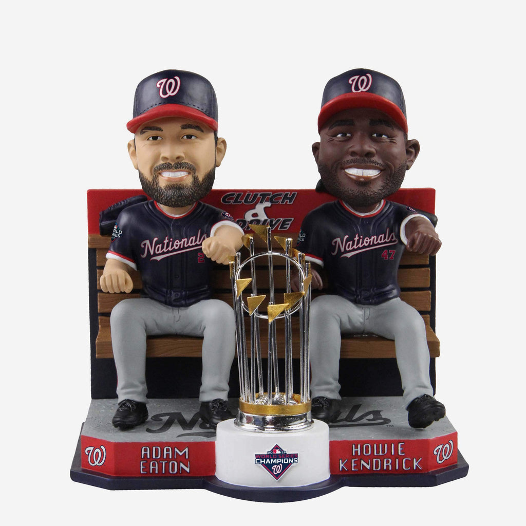 Howie Kendrick & Adam Eaton Washington Nationals 2019 World Series Champions Dual Driving Bobblehead FOCO - FOCO.com