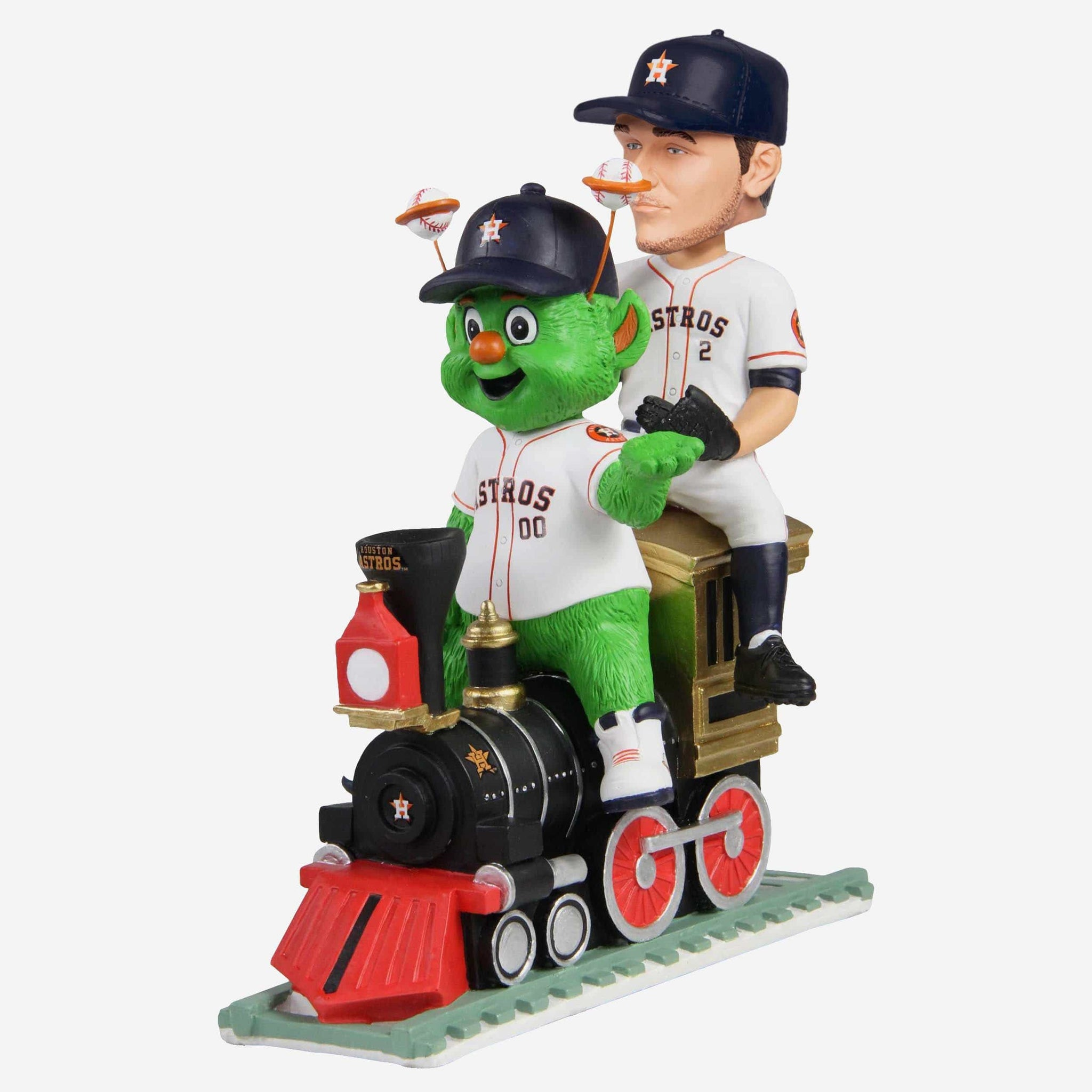 Alex Bregman & Orbit Houston Astros Dual Bobblehead FOCO - FOCO.com