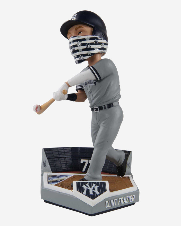Clint Frazier New York Yankees Face Cover Bobblehead FOCO - FOCO.com
