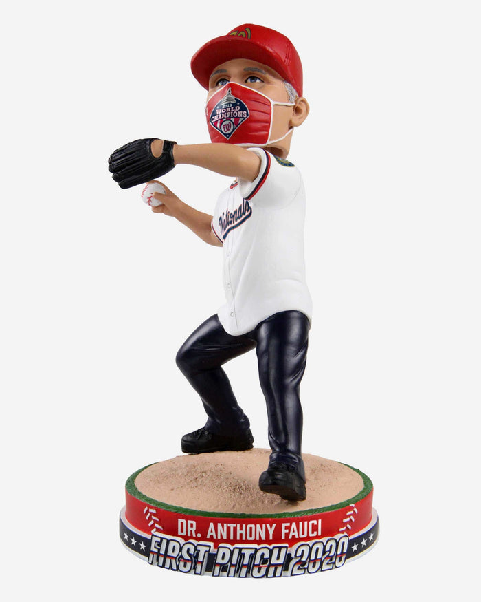 Dr Anthony Fauci Washington Nationals First Pitch Bobblehead FOCO - FOCO.com