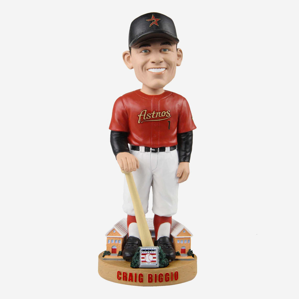 Craig Biggio Houston Astros Legends Of The Park Hall of Fame Bobblehead FOCO - FOCO.com