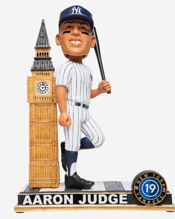 Aaron Judge New York Yankees London Series Big Ben Bobblehead FOCO - FOCO.com