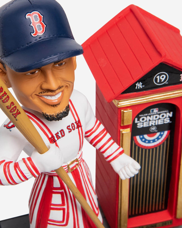 Mookie Betts Boston Red Sox London Series Beefeater Bobblehead FOCO - FOCO.com