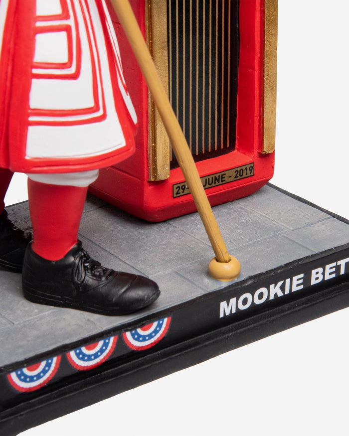 Mookie Betts Boston Red Sox London Series Beefeater Bobblehead