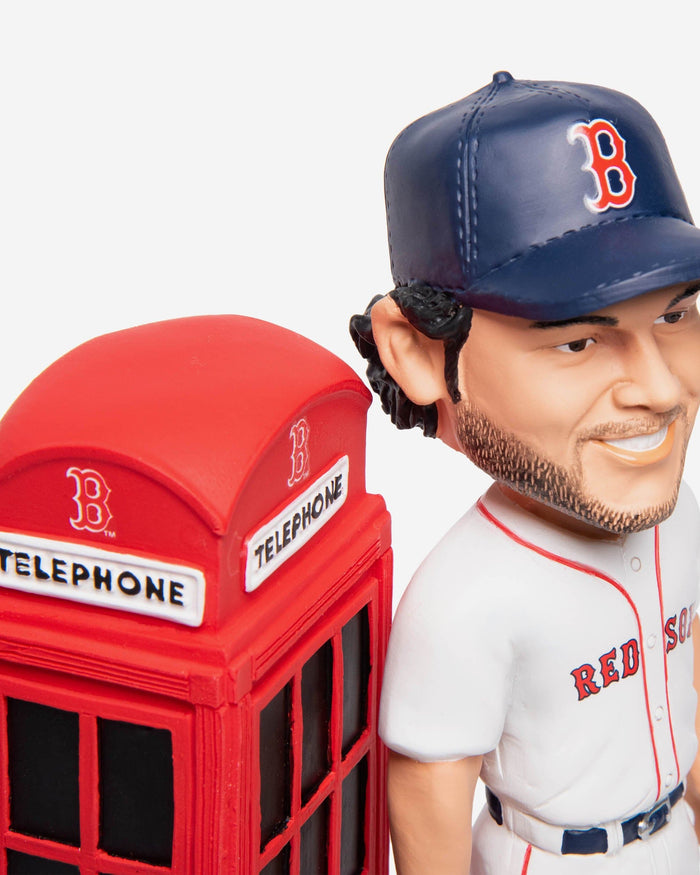 Andrew Benintendi Boston Red Sox London Series Phone Booth Bobblehead FOCO - FOCO.com