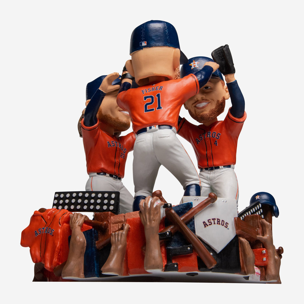 Houston Astros Outfield Celebration Bobblehead FOCO - FOCO.com