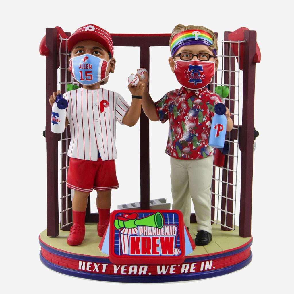 Philadelphia Phillies Phandemic Krew They're In Bobblehead FOCO - FOCO.com