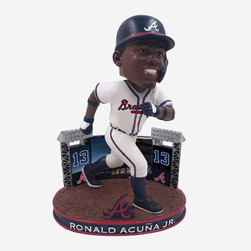 Ronald Acuna Jr Atlanta Braves Rookie Series Bobblehead