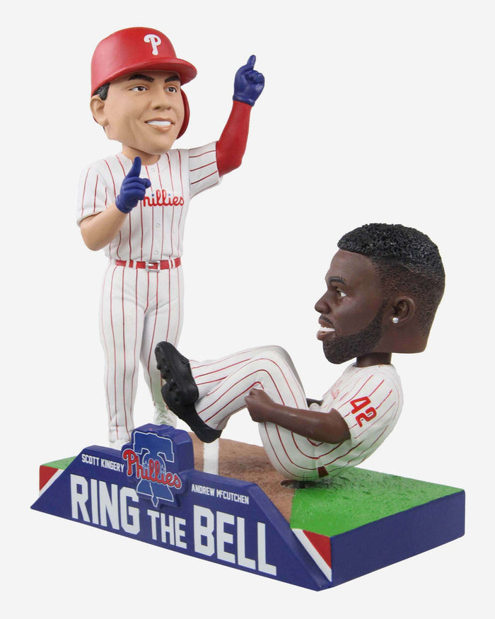 Scott Kingery & Andrew McCutchen Philadelphia Phillies Ring The Bell Dual Bobblehead FOCO - FOCO.com