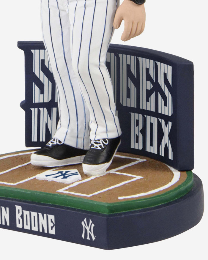 Aaron Boone New York Yankees Savages In The Box Bobblehead FOCO - FOCO.com