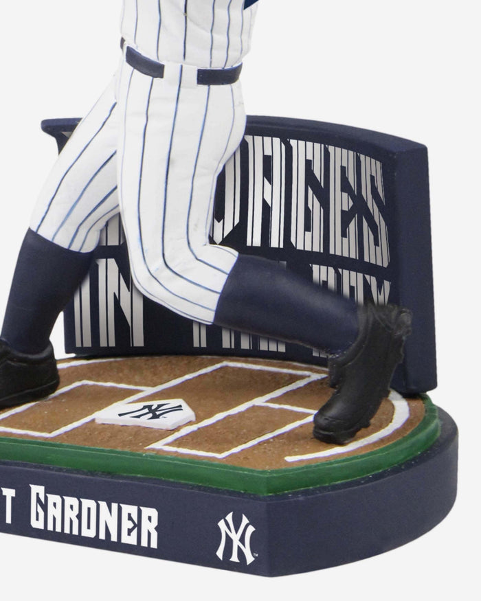 Brett Gardner New York Yankees Savages In The Box Bobblehead FOCO - FOCO.com