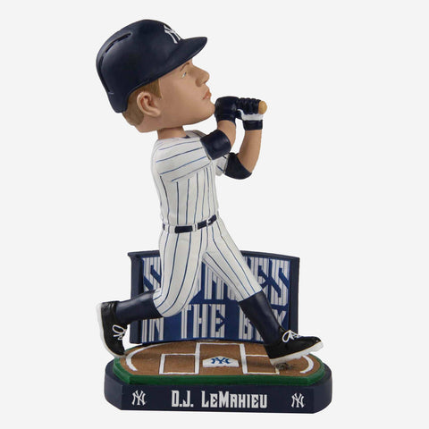 DJ LeMahieu New York Yankees Savages In The Box Bobblehead