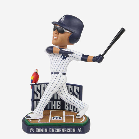 Edwin Encarnacion New York Yankees Savages In The Box Bobblehead