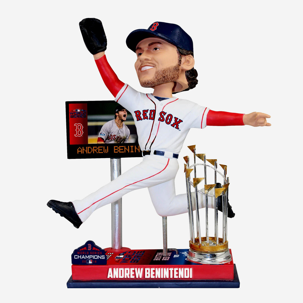 Andrew Benintendi Boston Red Sox World Series Special Moment Bobblehead FOCO - FOCO.com
