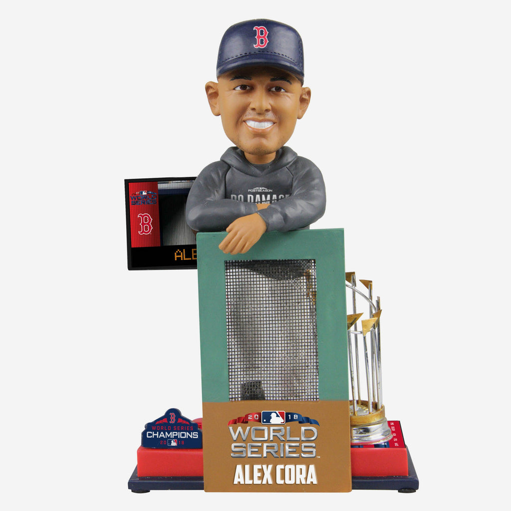 Alex Cora Boston Red Sox World Series Special Moment Bobblehead FOCO - FOCO.com