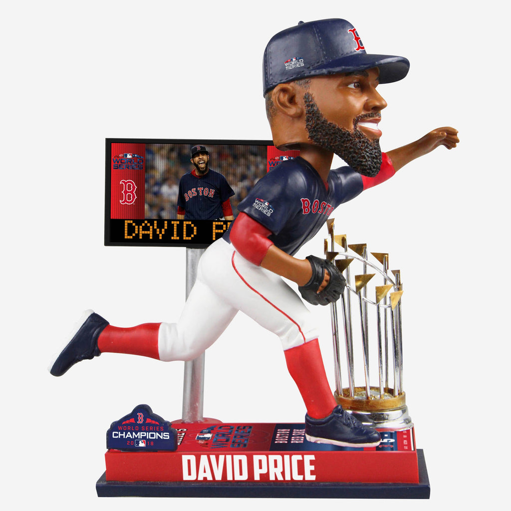 David Price Boston Red Sox World Series Special Moment Bobblehead