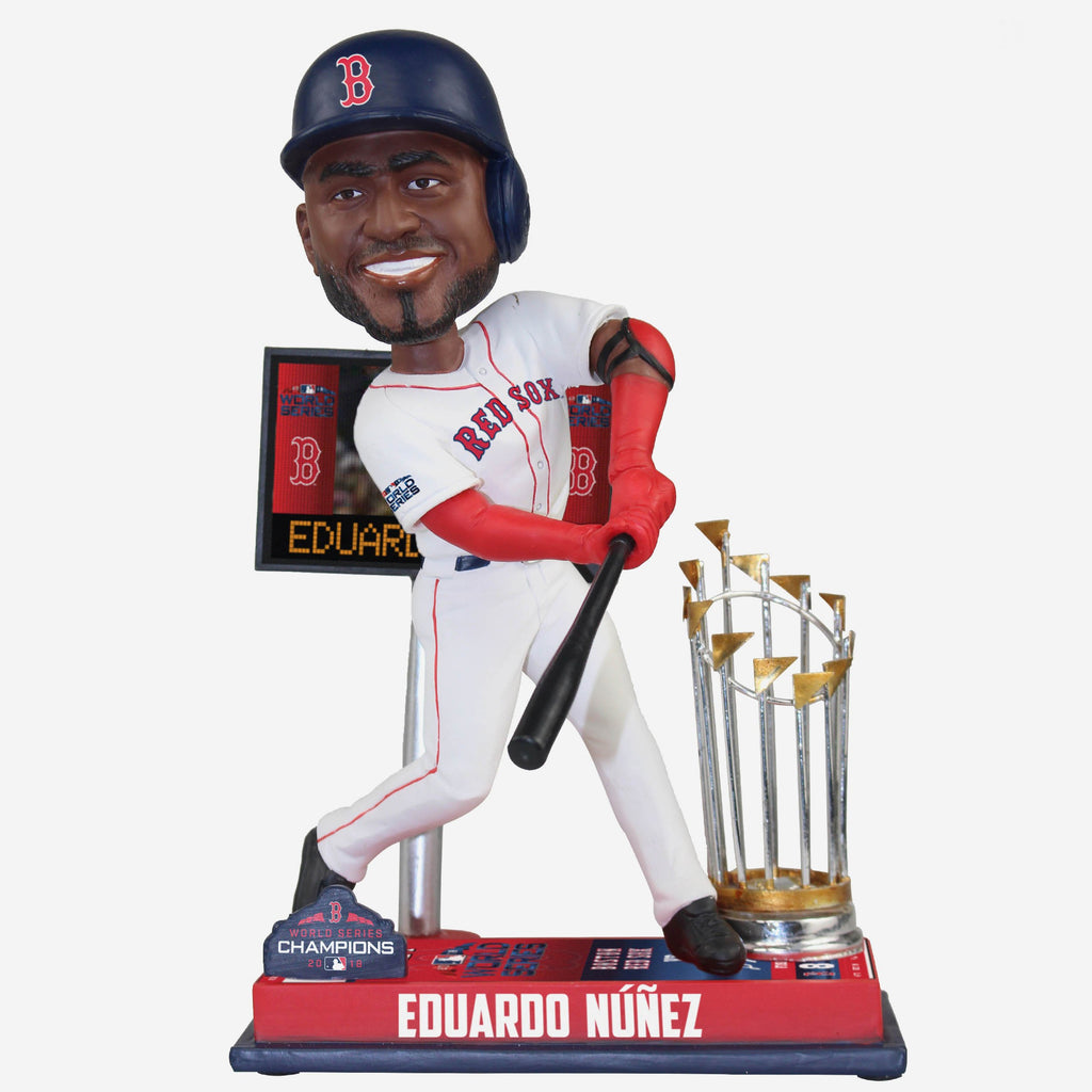 Eduardo Nunez Boston Red Sox World Series Special Moment Bobblehead