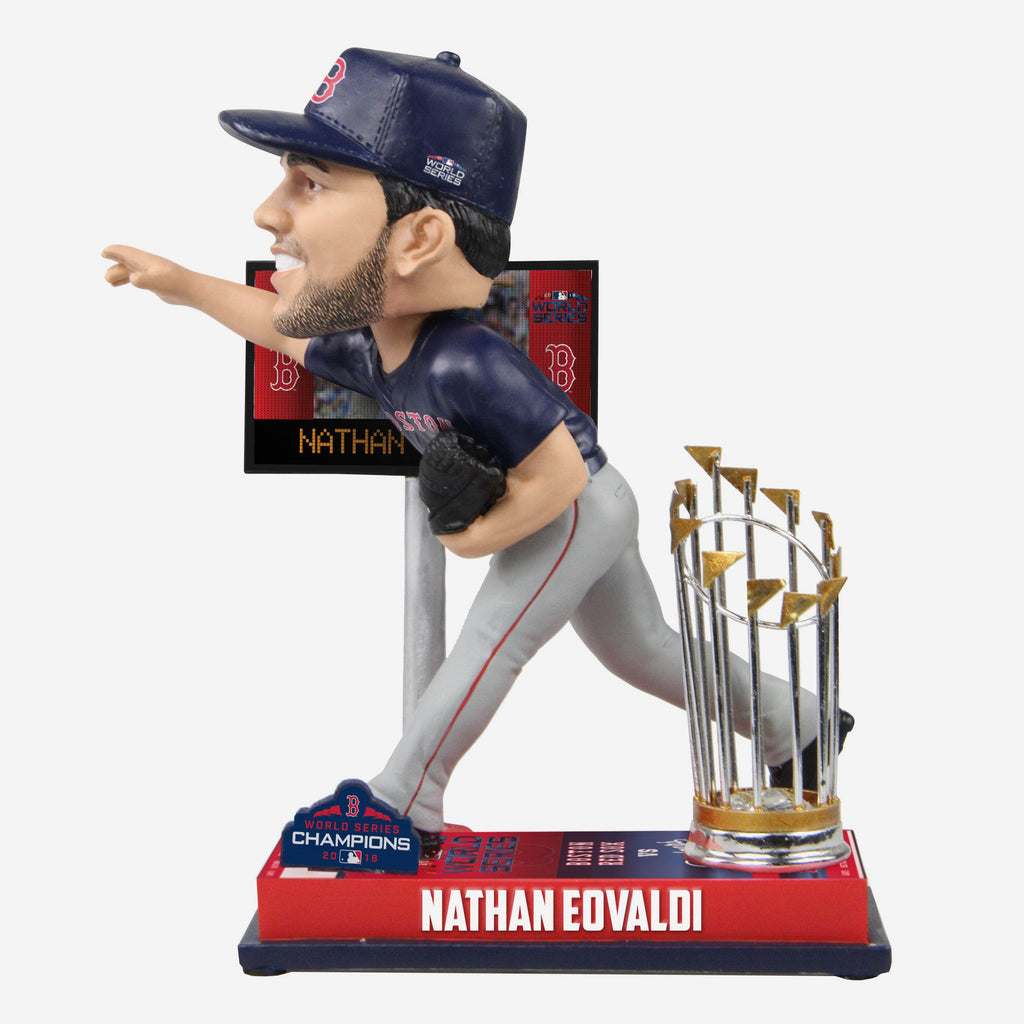 Nathan Eovaldi Boston Red Sox World Series Special Moment Bobblehead FOCO - FOCO.com
