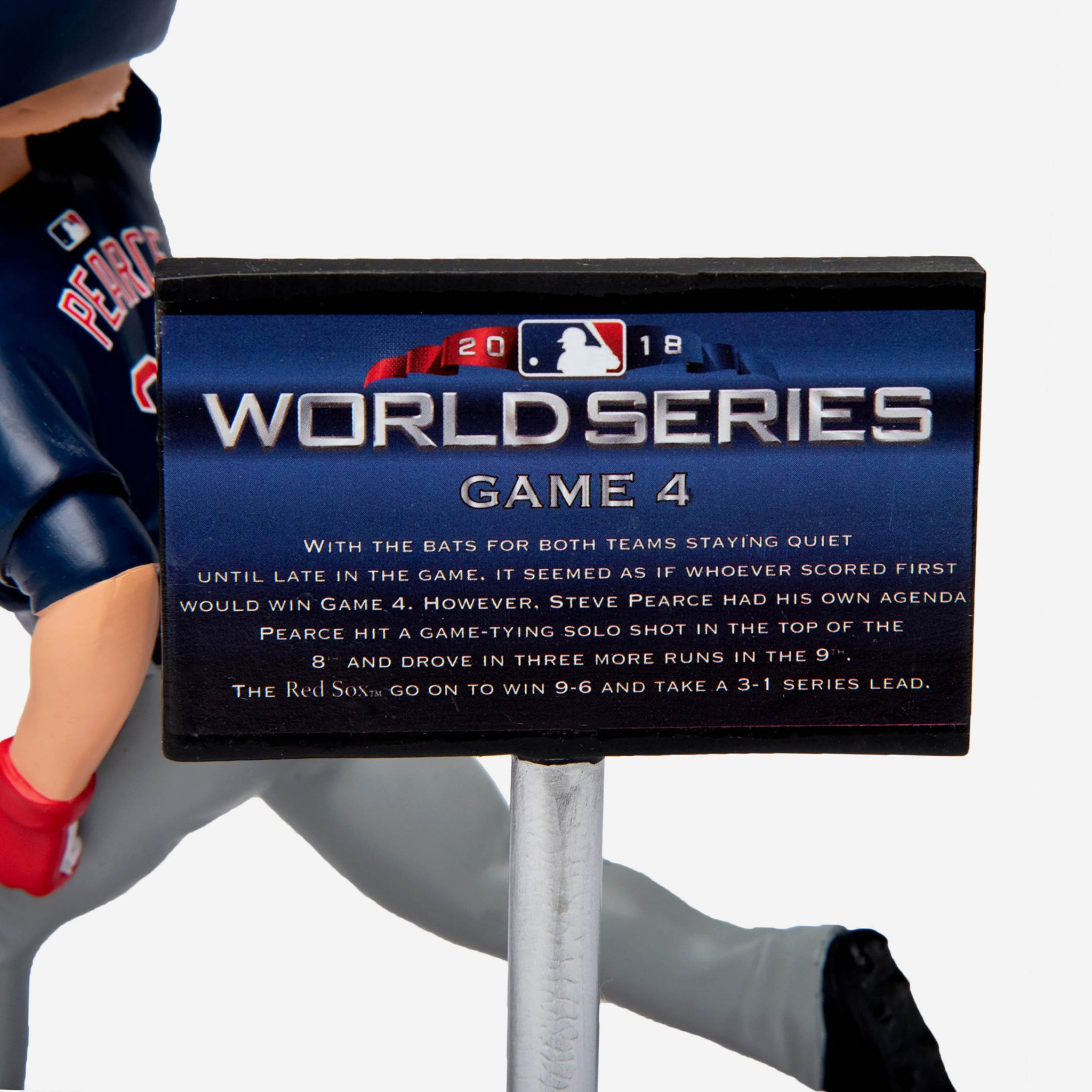 e0a87d141 Steve Pearce Boston Red Sox World Series Special Moment Bobblehead ...