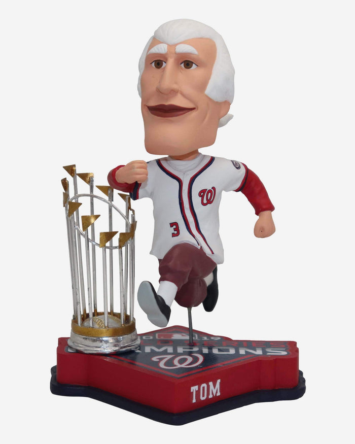 Thomas Jefferson Washington Nationals 2019 World Series Champions Bobblehead FOCO - FOCO.com