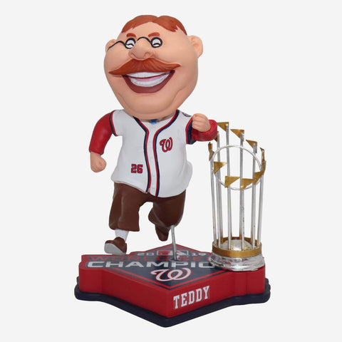 Theodore Roosevelt Washington Nationals 2019 World Series Champions Bobblehead