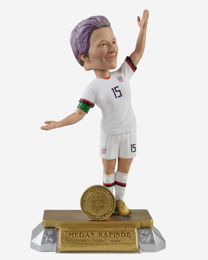Megan Rapinoe US Womens National Soccer Team Celebration Bobblehead FOCO - FOCO.com