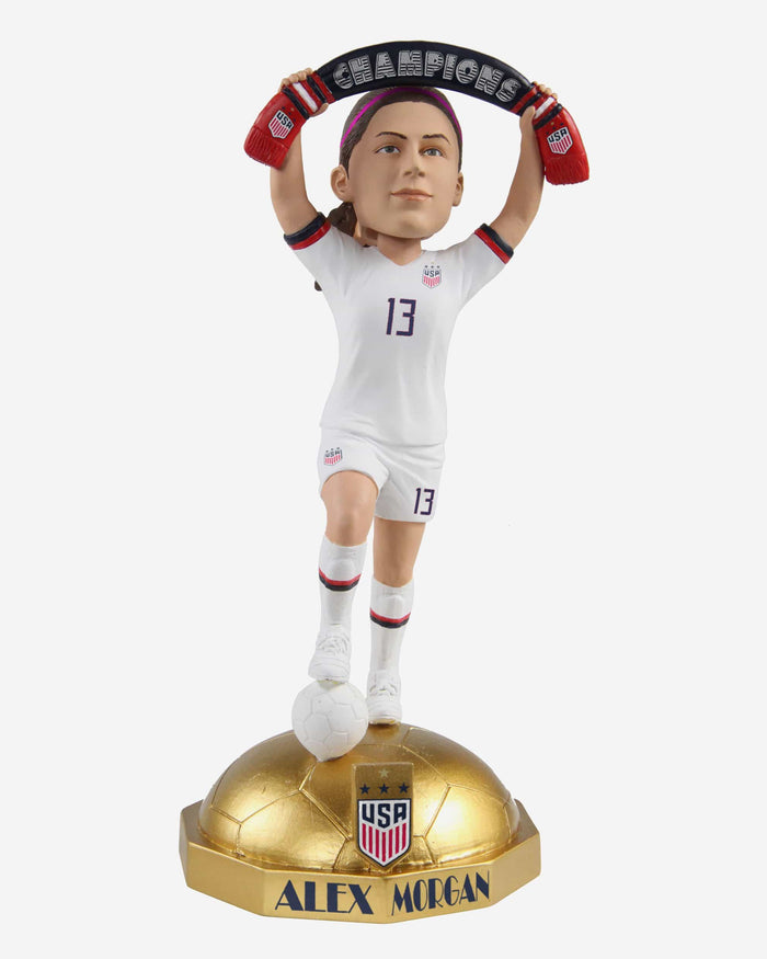 Alex Morgan US Womens National Soccer Team Championship Bobblehead FOCO - FOCO.com