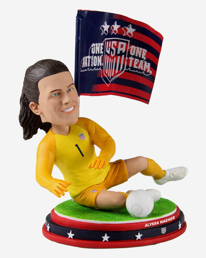 Alyssa Naeher US Womens National Soccer Team Bobblehead FOCO - FOCO.com