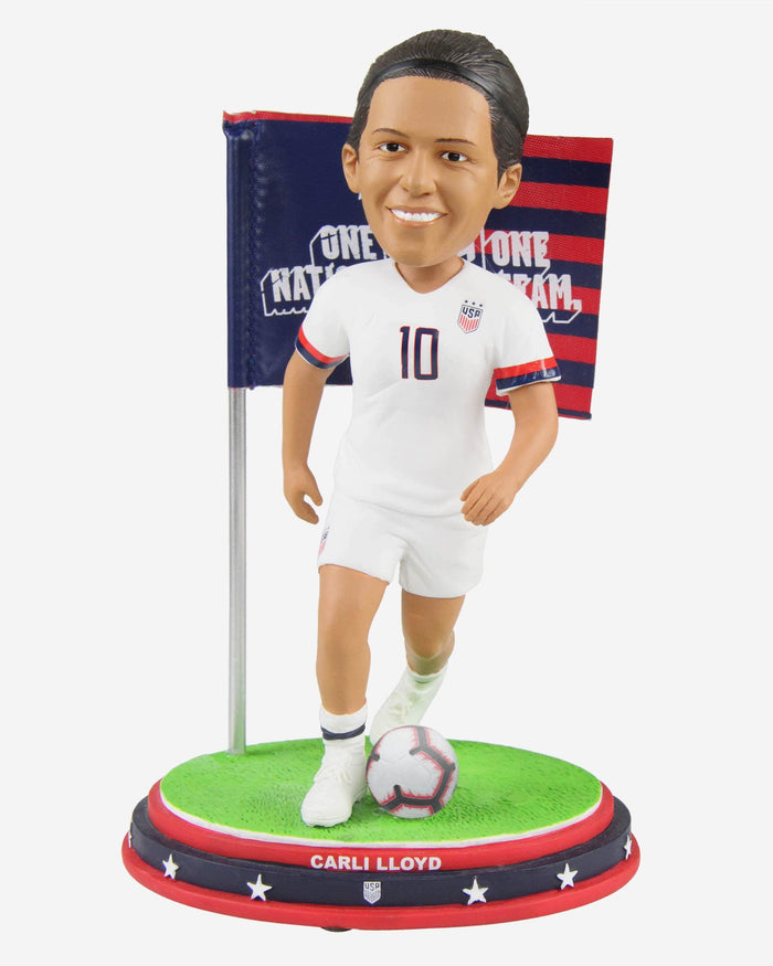 Carli Lloyd US Womens National Soccer Team Bobblehead FOCO - FOCO.com