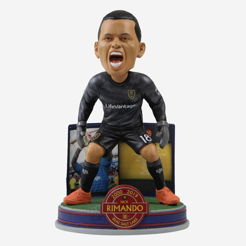 Nick Rimando Real Salt Lake Retirement Bobblehead FOCO - FOCO.com