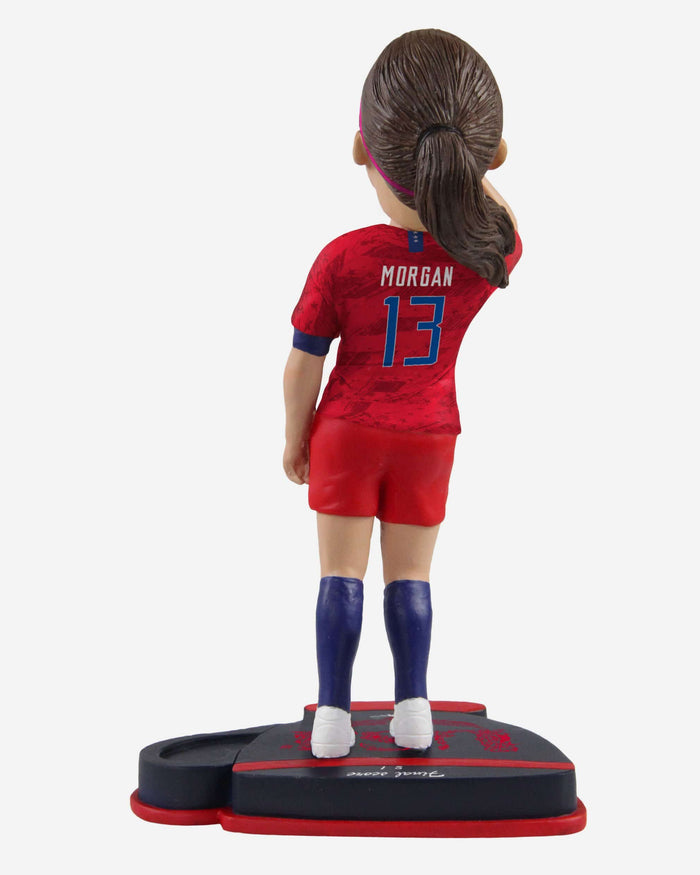 Alex Morgan US Womens National Soccer Team Tea Time Celebration Bobblehead FOCO - FOCO.com