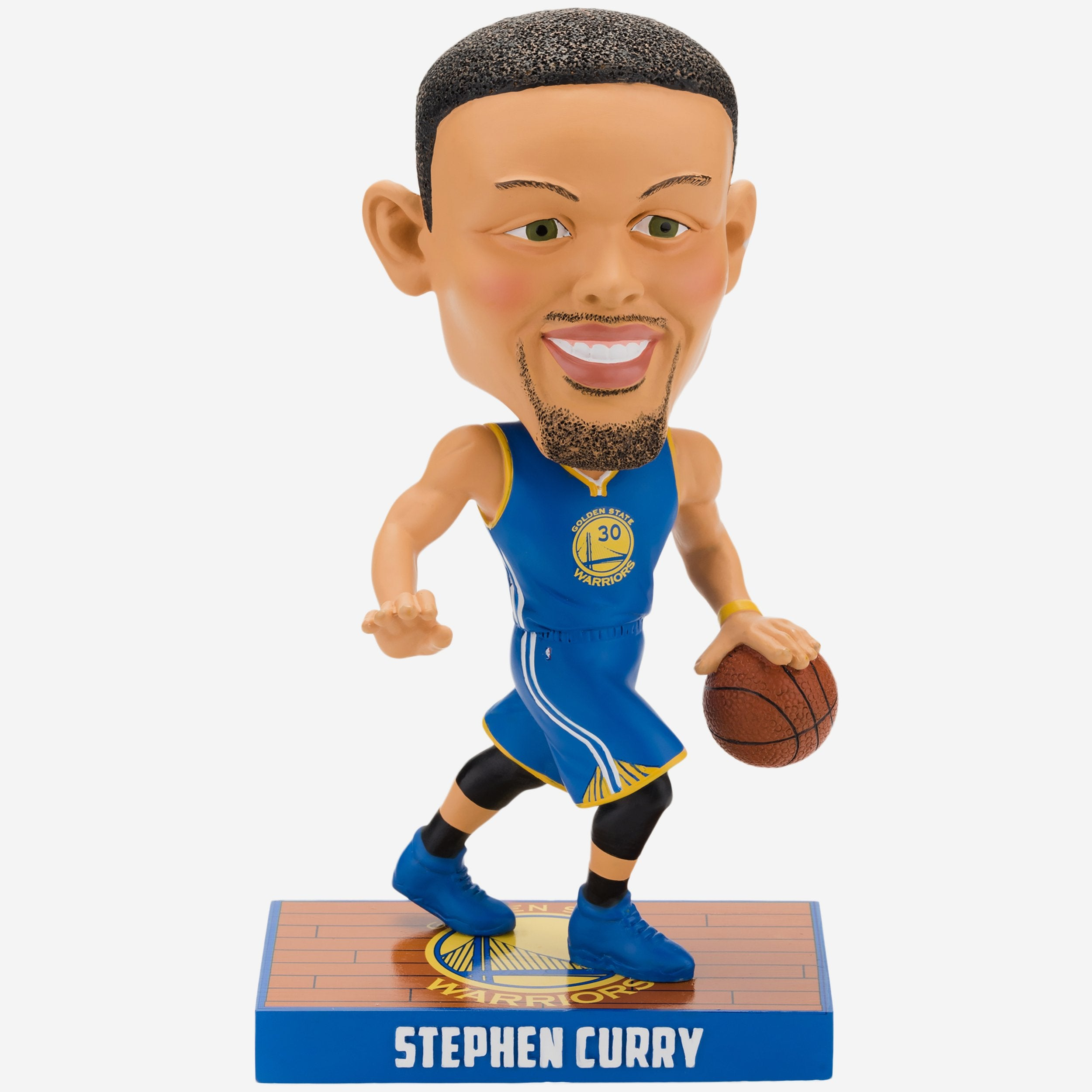 dc327d330 Steph Curry Golden State Warriors Caricature Bobblehead FOCO.com