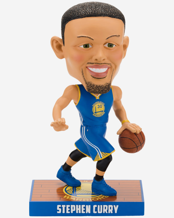 Steph Curry Golden State Warriors Caricature Bobblehead FOCO - FOCO.com